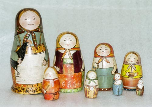 Fist Matryoshka Dolls