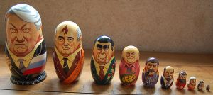 Russian Leaders Matryoshka