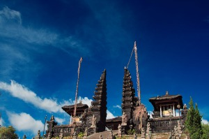 Mother Temple of Besakih in Bali