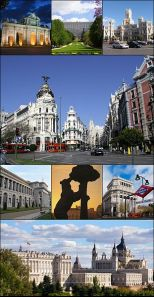 Collage of Madrid