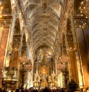 Interior of Czestochowa Church