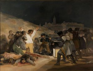El Tres de Mayo painting by Francisco de Goya