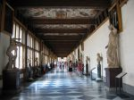Uffizi Museum Hallway in Florence Italy