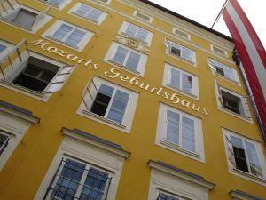 Mozart's birthplace in Salzburg