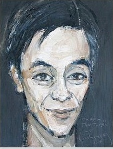 Portrait of Thanh Tam Tuyen by Dinh Cuong