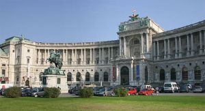 Hofburg Palace in Austria