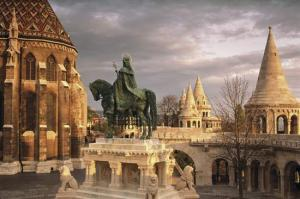 Statue of St Stephen in Budapest