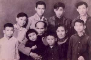Luu Trong Lu's family portrait