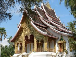 Buddhist Temple at Royal Place in Luang Prabang