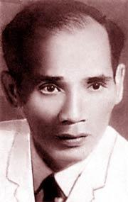 Luu Trong Lu - portrait in sepia