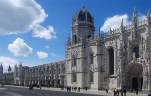 The Monastery of Jerónimos, Lisbon, Portugal