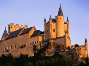 Alcazar Castle in Toledo Spain