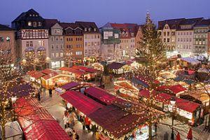 Christmas Market in Jena, Gernany