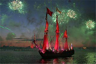 Scarlet Sail_White Nights