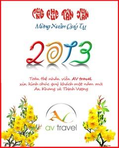 AV Tet Card