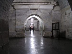 Inside Dingling Tomb