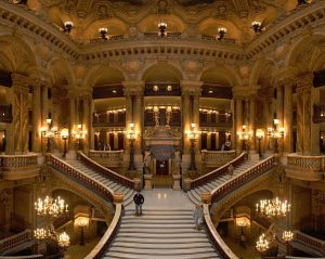 The Large Staircase of The Garnier Opera