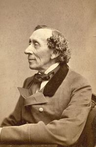 Portrait of Hans Christian Andersen