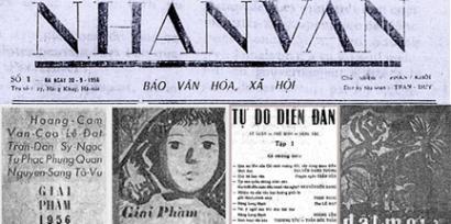Nhan Van Giai Pham 1956 -