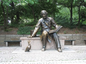 Hans Christian Andersen Statue - Central Park, NYC