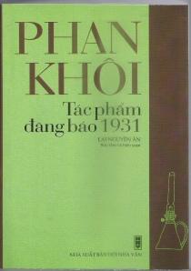 Phan Khoi - Tac Pham 1931