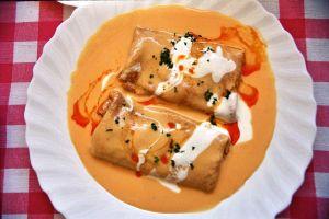 Hungarian Pancake - Hortobagy Style