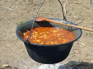 Traditional Hungarian Gulyas