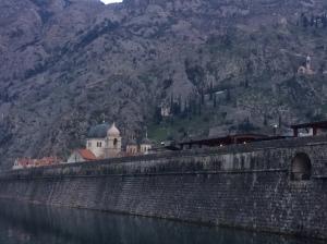 Kotor Old Town Walls