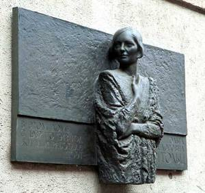 Monument of Olga Berggolts