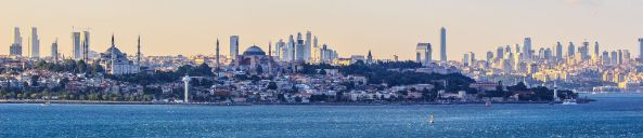 Panoramic View of Istanbul,Turkey