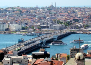 Galata Bridge on the Golden Horn