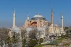 exterior vew of Hagia Sophia